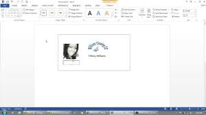 identity card template word how to use microsoft word to make id badges youtube