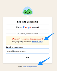 Passwords And Invitations Basecamp 2 Help
