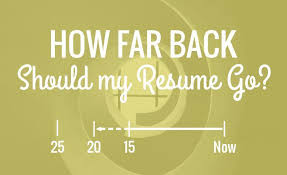 Go Resume Beauteous How Far Back Should My Resume Go Resume Hacking
