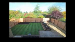 Small Picture Landscape Gardeners Leeds A Time Lapse Garden Makeover YouTube