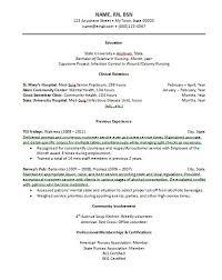 new grad nurse resume new graduate nursing resume template