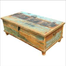 distressed coffee table diy distressed coffee table wood white for