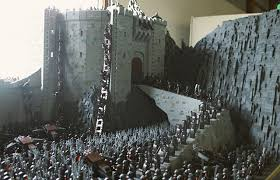 Image result for images of battle of helm's deep in peter jackson's lord of the rings