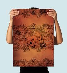 boho print paisley elephant art print illustration art  on paisley print wall art with boho print paisley elephant art print illustration art print giclee
