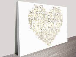 photo 1 of 5 best wedding gifts australia 1 best wedding gifts australia new personalised canvas word art and on personalised wall art gifts with best wedding gifts australia complimenta us