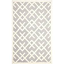 grey geometric rug handwoven pattern gray ivory wool x yellow and rugs