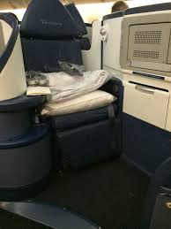 the delta one seat comfy roomy and right next to the aisle photo sid lipsey