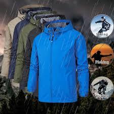 <b>New Softshell Sailing</b> Jacket Men's Windproof Hiking Jackets ...