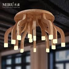 Soffitto In Legno Grigio : Acquista allu ingrosso lampada da soffitto in legno