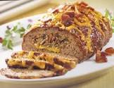 bbq meat loaf    pampered chef