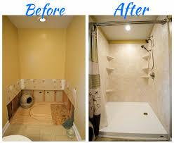 plete bathroom remodel tub to shower conversion walk in convert a bathtub into