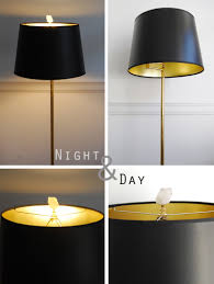 house excellent black lamp shades 27 marvelous with gold lining in simple home decor inspirations p84
