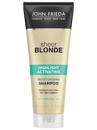 Увлажняющий активирующий <b>шампунь для</b> светлых волос Sheer ...