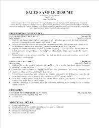 Sales Insurance Agent Resume Templates At