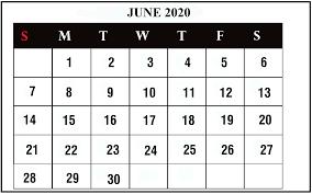June 7 2020 Best Letter Template