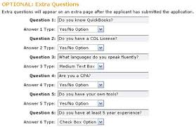 job application questions job interview questions that can pre qualify applicants iapplicants