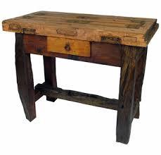 old door old wood vanity table