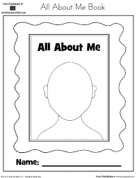 All About Me Printable Book A To Z Teacher Stuff Printable Pages