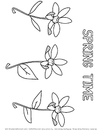 Small Picture Springtime Printable Coloring Pages Placecards Placemats Online