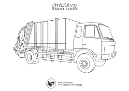 Small Picture truck coloring page