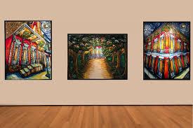 artworks at caliche pao gallery courtesy of caliche pao