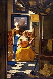 320px The Love Letter Jan Vermeer van Delft