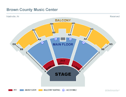 Seating Chart Bcmc Brown County Indiana