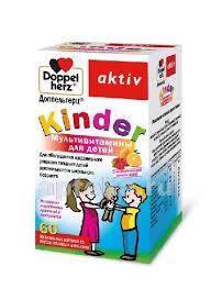<b>Доппельгерц kinder мультивитамины</b> для детей n60 жев пастилки ...