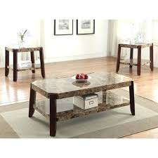faux marble coffee table brown faux marble coffee table faux marble top coffee and end table