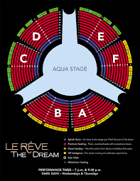 Las Vegas O Show Seating Chart