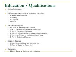 sample of qualifications in resume how to write educational qualification  in sample resume download sample resume . sample of qualifications in resume  ...