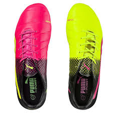 puma indoor soccer shoes for men. puma men shoes evopower 1.3 fg firm ground soccer cleats pink glo-safety indoor for