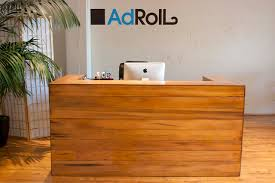 Custom San Francisco tech company reception desk by Bay Area Custom  Furniture