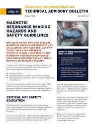 Mri Room Hvac Design Magnetic Resonance Imaging Hazards And Safety Guidelines