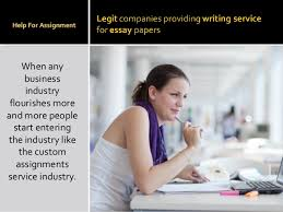 Professional legit essay writing done to help you with school assignm