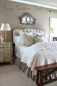 Southern Bedroom Savvy Southern Style Adding French Farmhouse Style In The Master