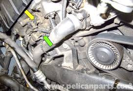 together with  furthermore BMW E60 5 Series N62 8 Cylinder Coolant Pipe Replacement   Pelican also BMW E60 5 Series N62 8 Cylinder Coolant Pump Replacement   Pelican also  also  further BMW Z3 Oil Filter Housing Gasket Replacement   1996 2002   Pelican additionally  further BMW E60 5 Series Alternator Replacement  M54 6 Cylinder    Pelican in addition  as well BMW E60 5 Series Water pump Replacement  M54 6 Cylinder    Pelican. on bmw e water pump repment series intake manifold on engine n cylinder coolant pipe pelican valve cover seal 07 e63 serpentine belt diagram