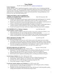 Resume For Marketing Manager Free Resume Example And Writing