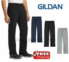 Gildan Open Bottom Sweatpants Size Chart Mens Gildan Open Bottom Sweatpants Casual Retro Style