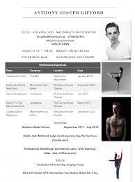 terrific dance resume brefash professional dance resume dance resume dance resume layout sample dance resume generator dance resume format for
