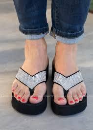 Designer Platform Flip Flops Jupiter Flip Flop By Corkys Clear Flip Flop Shoes