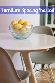Furniture design basics Cube Dimensions To Follow Proper Furniture Spacing Basics Apartment Therapy Pinterest Dimensions To Follow Proper Furniture Spacing Basics Apartment