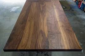 The table is almost done. Tabletops Plywood Table Diy Dining Table Hardwood Table