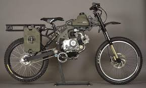 motoped s motorized survival bike from mild to wild