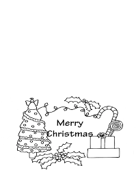 Christmas cards are a staple for sending to family and friends each year. Christmas Cards For Kids To Color Coloring Home