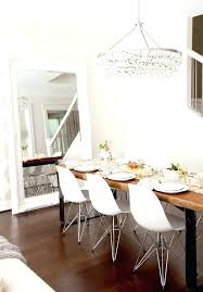 post dining table chandelier height standard above light fixture destination lighting room pendant