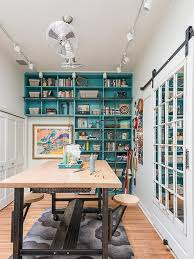 eclectic crafts room. Photo By: Abby Hetherington Eclectic Crafts Room R