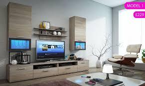 Elegant Modern Living Room Furniture UK Set Tv Stand Unit Cabinet Cupboard