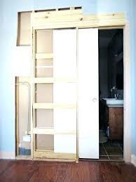 how to install bathroom door pocket doors for bathroom how to destroy your fears install a pocket door sliding pocket bathroom pocket doors for bathroom