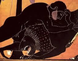 подвигов Геракла Мифы Древней Греции Русский Клуб г Тампере Гераклу недолго пришлось ждать первого поручения царя Эврисфея Он поручил Гераклу убить немейского льва Этот лев порожденный Тифоном и Ехидной